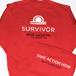 Click here for more information about Survivor Sweatshirt - Red